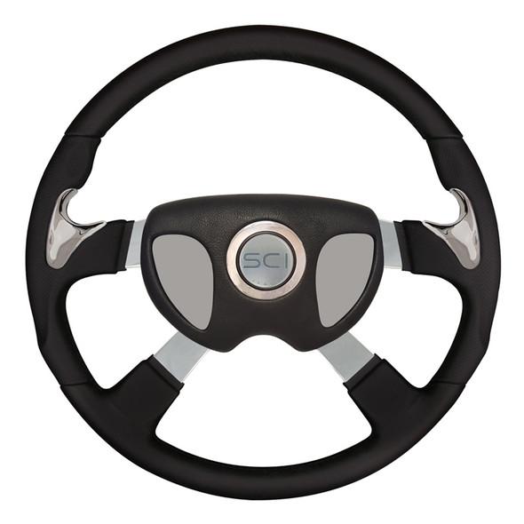 """18"""" Highway Steering Wheel With Smart Gen 3 Center Pad"""