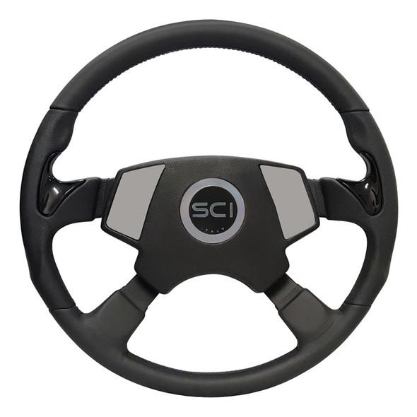 "Kenworth 18"" Stealth Smart Steering Wheel Set - Smart Gen 2 Pad"