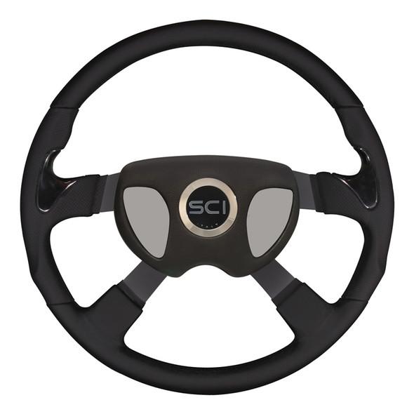 "Kenworth 18"" Stealth Smart Steering Wheel Set - Smart Gen 3 Pad"