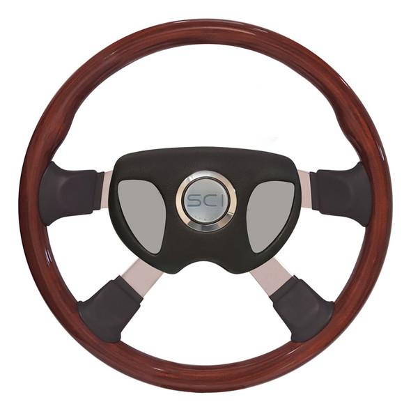 """Kenworth 18"""" Tour 4 Smart Steering Wheel Set - Smart Gen 3 Pad"""
