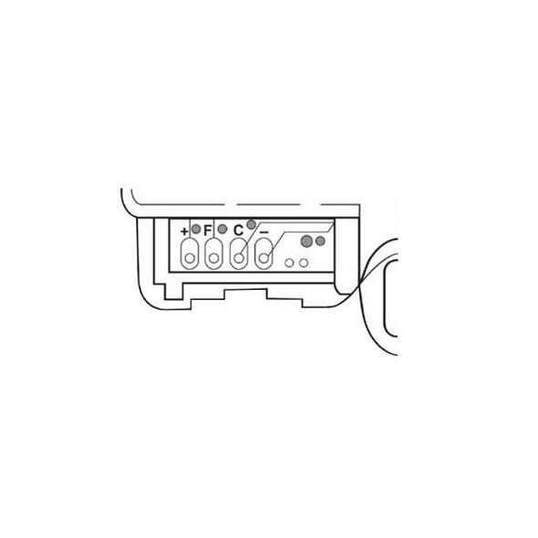 Heavy Duty International And Mack Door Lock Actuator 7787-650694 2503207-C1 Diagram