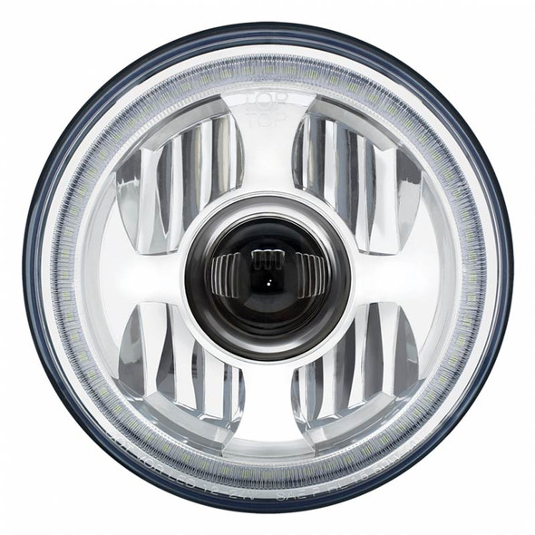 """7"""" Round High Power LED Projection Headlight"""