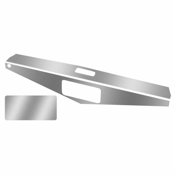 Peterbilt Stainless Steel Headliner & Access Cover Plate Trim By Roadworks