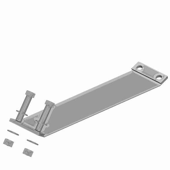 Chrome Wide Bracketless Exhaust Band Clamp
