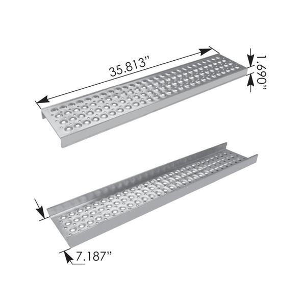 International ProStar Heavy Duty Replacement Step 3808858C2 Measurements