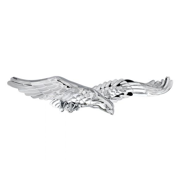 Chrome Adhesive Bald Eagle Emblem
