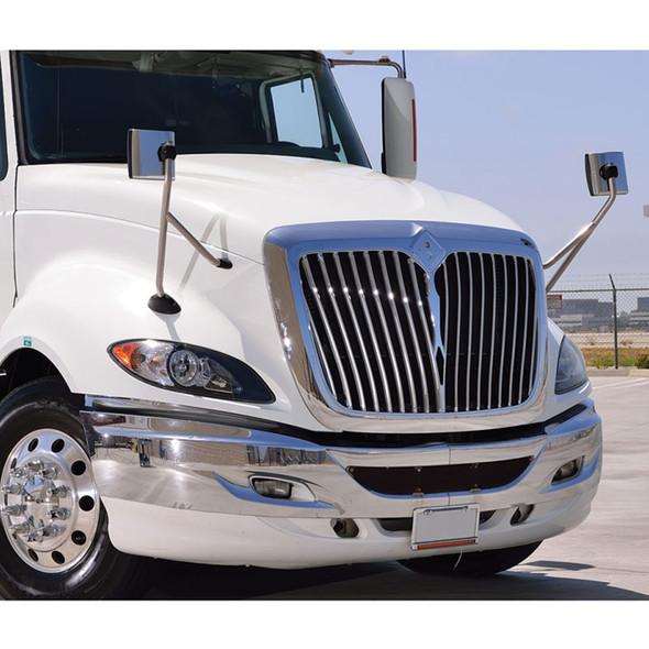International ProStar Hood Mirror Assembly On Truck