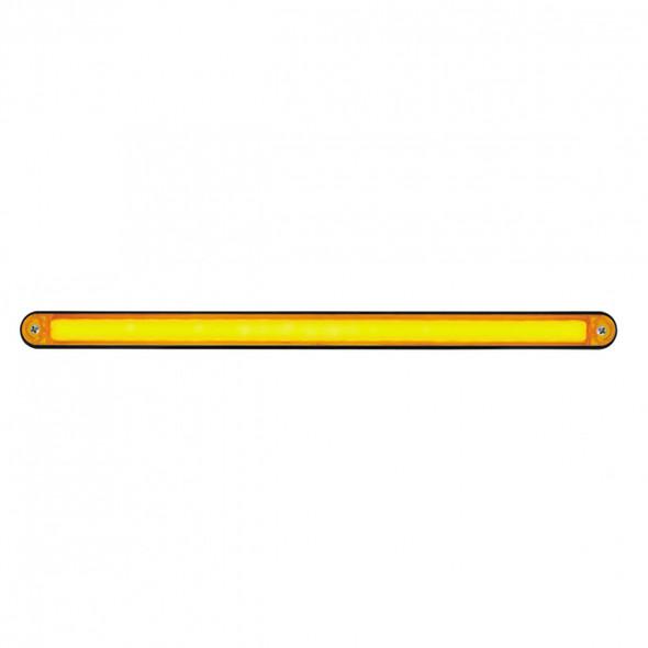 "24 LED 12"" GLO Light Bar With Black Housing - Amber/Amber"
