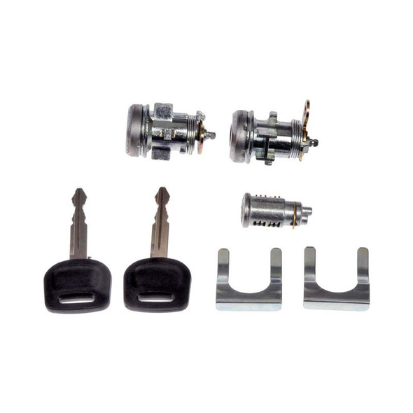 Freightliner Cascadia M2 106 112 Ignition And Door Lock Cylinder Kit A22-63159-000 A2263159041 Tip View