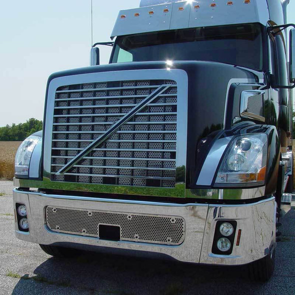 Volvo VT880 Stainless Steel Punch Grill By Roadworks