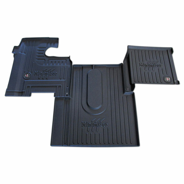 International 5500i 5600i 5900i 9200i 9400i 9900i 2000-2011 Minimizer Floor Mats  - Automatic w/ Premium Interior