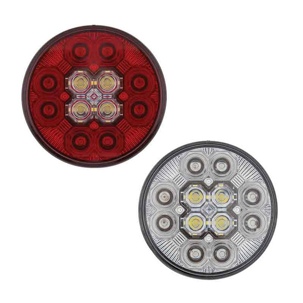 """4"""" Round STT And Back-Up Combo LED Light"""