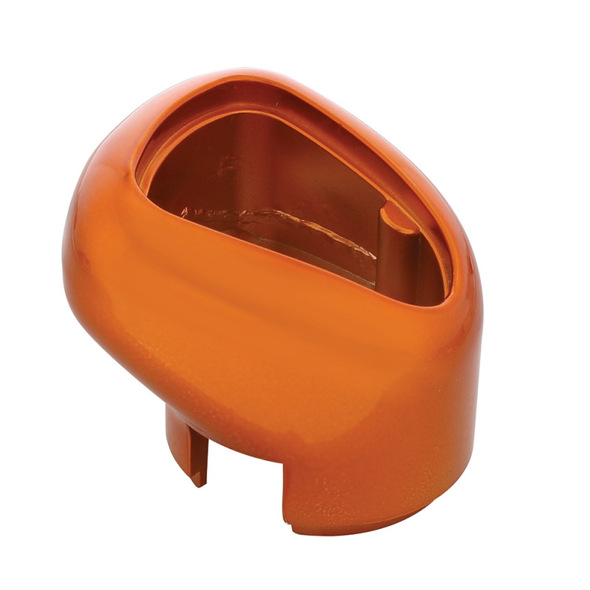 13/15/18 Speed Eaton Fuller Style Gearshift Knob Colored Cadmium Orange