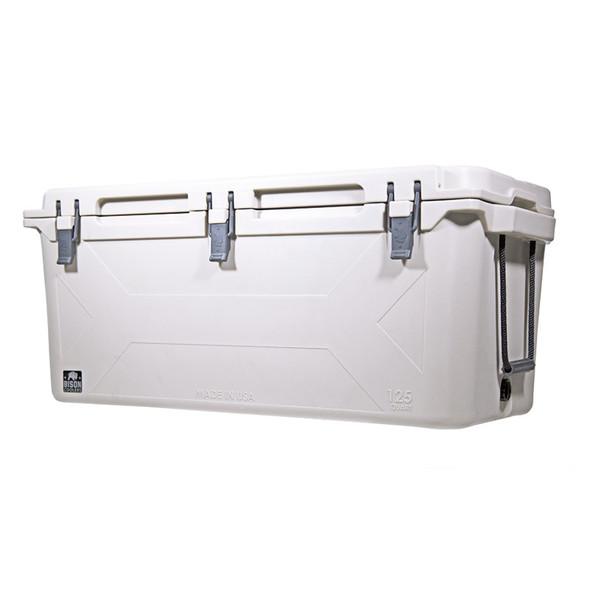 Bison 125 Quart Cooler White