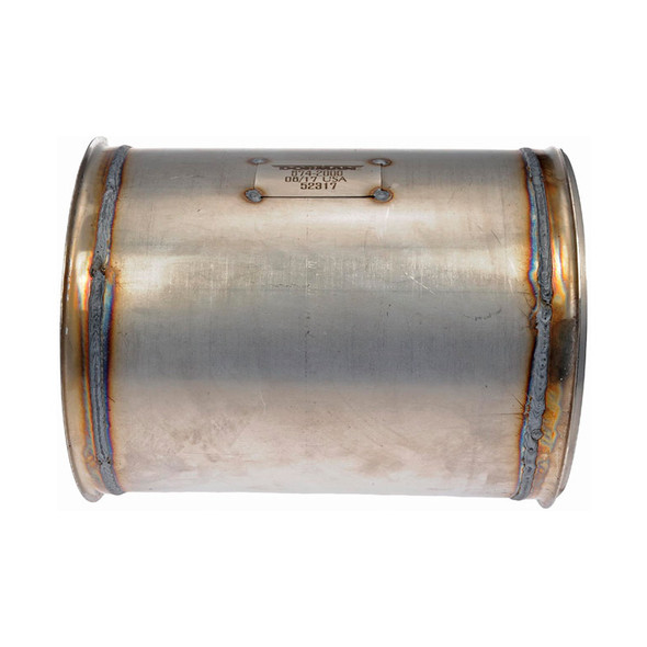Diesel Particulate Filter Side View