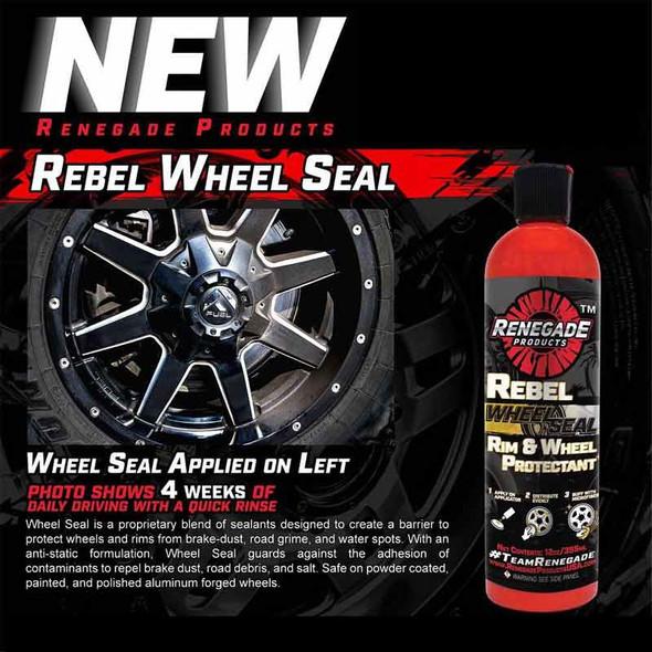 Renegade Rebel Wheel Seal Rim And Wheel Protectant 12oz Diagram