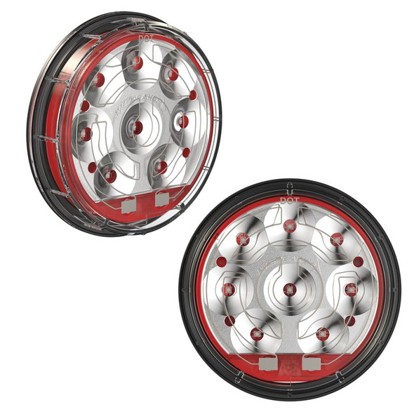 """JW Speaker 4"""" LED Heated Stop And Tail Light Model 234"""