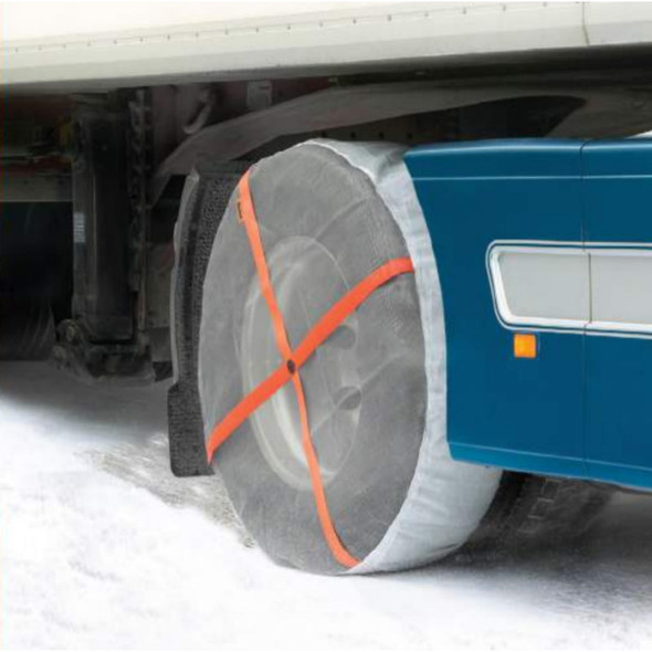 """AutoSock Traction Device For 22.5"""" To 24.5"""" Wheels"""