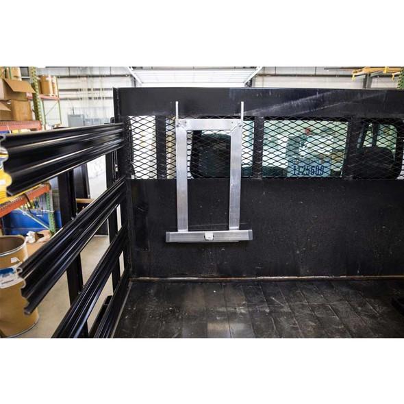 Ladder Upright Storage Rack Far View