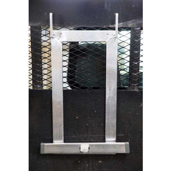 Ladder Upright Storage Rack  Mounted