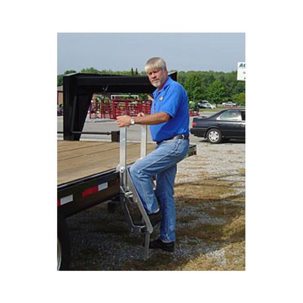 Drop Deck Trucker Ladder Mounted