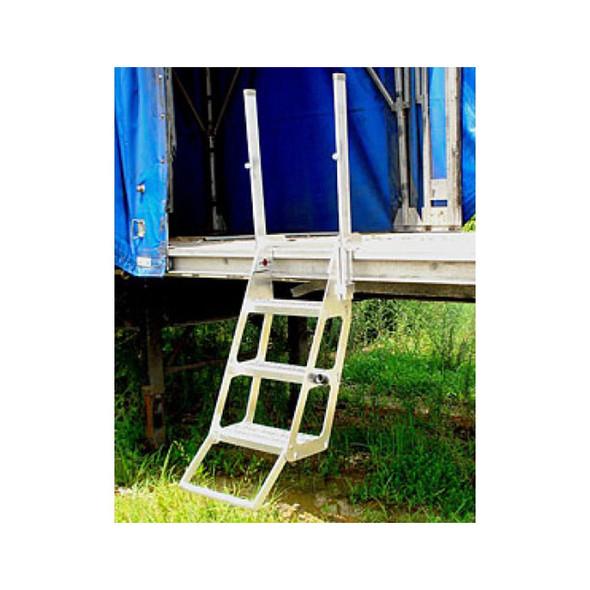Roll Tarp Trucker Ladder