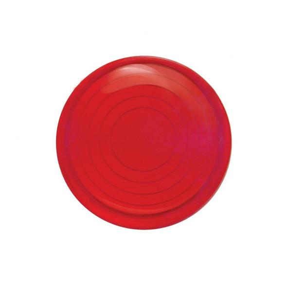 Peterbilt Round Dome Light Lens Red