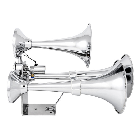 Heavy Duty Mega-Size Train Horn with Deluxe Sound - Side View