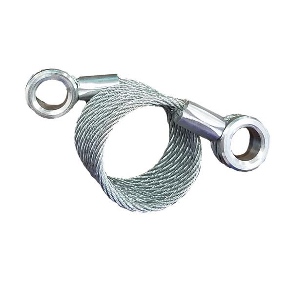 Peterbilt 379 Hood Cable Restraint