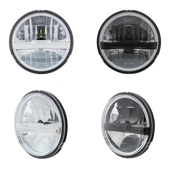 "5 3/4"" Round LED Headlight With 8 High Power LEDs"