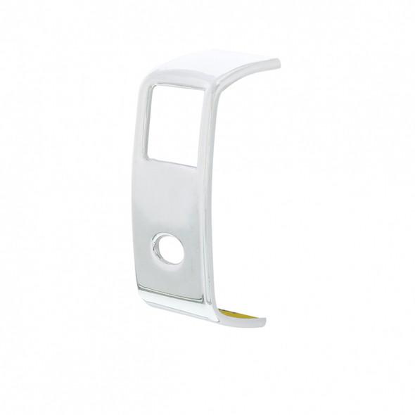 Peterbilt 567 579 587 Chrome Rocker Switch Cover Side Angle