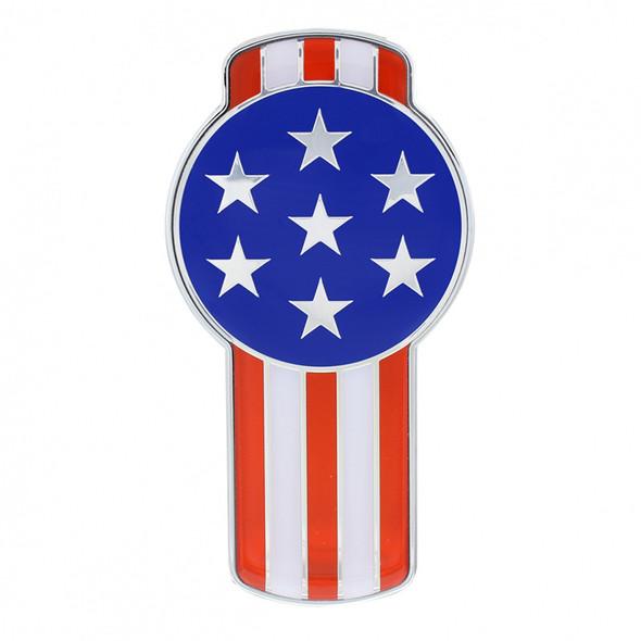 Kenworth T680 & T880 Chrome Flag Emblem - USA