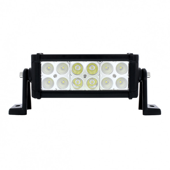 """12 High Power LED 7"""" Competition Series Combo Light Bar"""