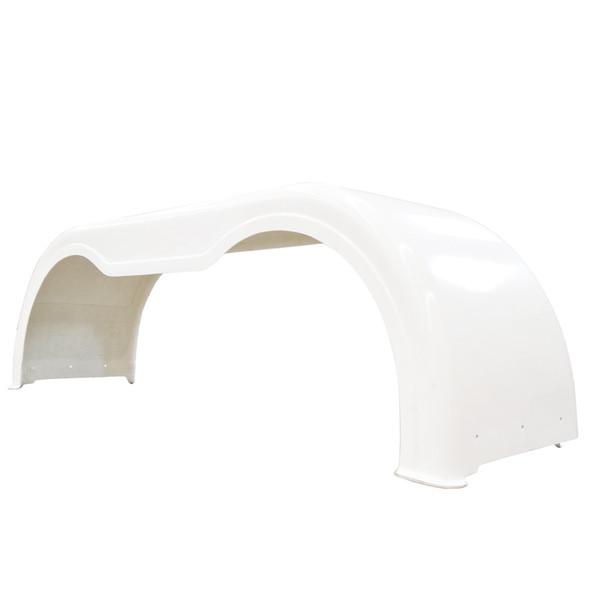 Fiberglass Full Tandem Fender Set White