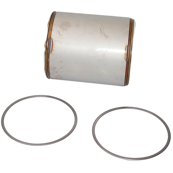 Diesel Particulate Filter For Cummins ISC 8.3 & ISL 8.9 Side View