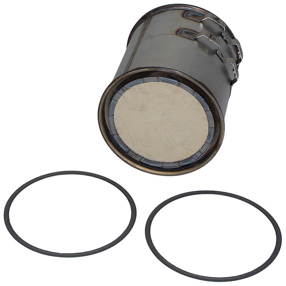 Diesel Particulate Filter For Mercedes-Benz MBE926 Engines Angle View