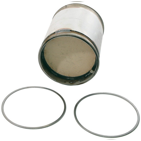 Diesel Particulate Filter For Cummins ISX 15 Engines Angle