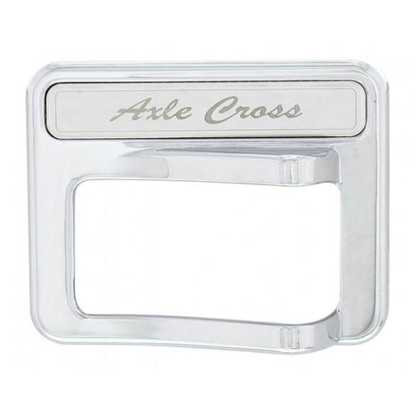Peterbilt 567 579 587 Chrome Rocker Switch Cover 2014+ Axle Cross