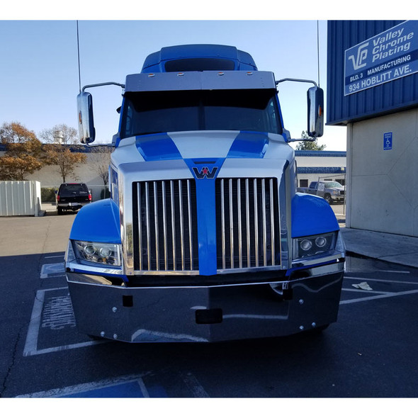 Western Star 5700XE Set Back Axle Bumper Front View