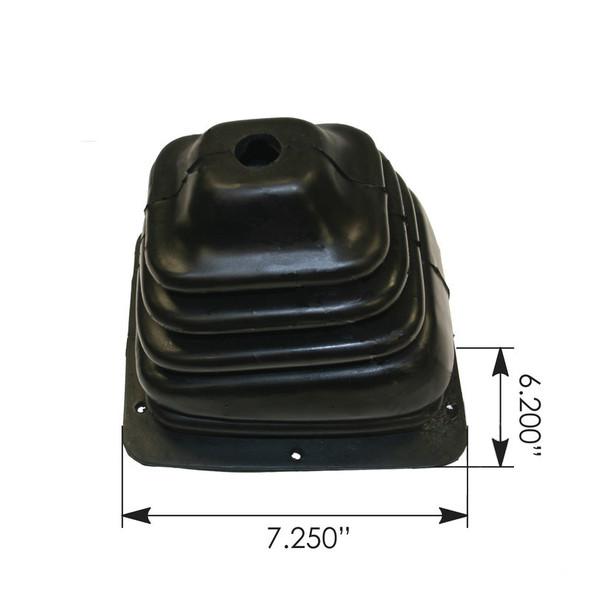 Peterbilt 377 378 379 Shifter Boot - Dimensions