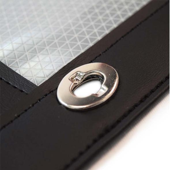 Volvo VNL Black Bug Screen - Mounting Eyelet