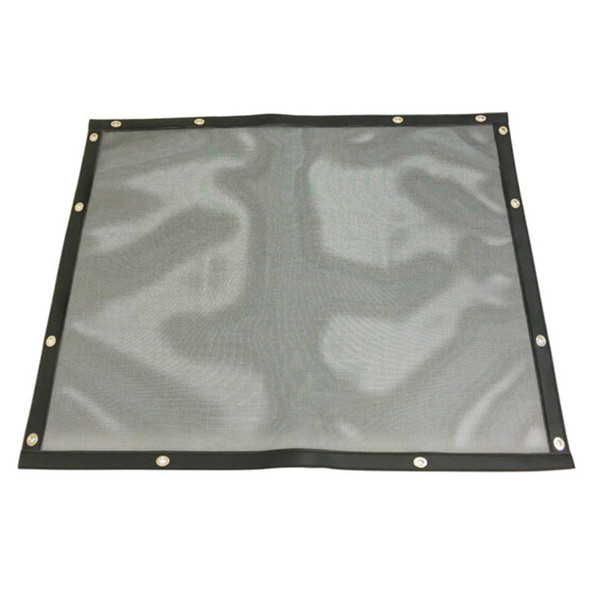 Freightliner FLD 120 Classic Classic XL Bug Screen - Black with Black Trim