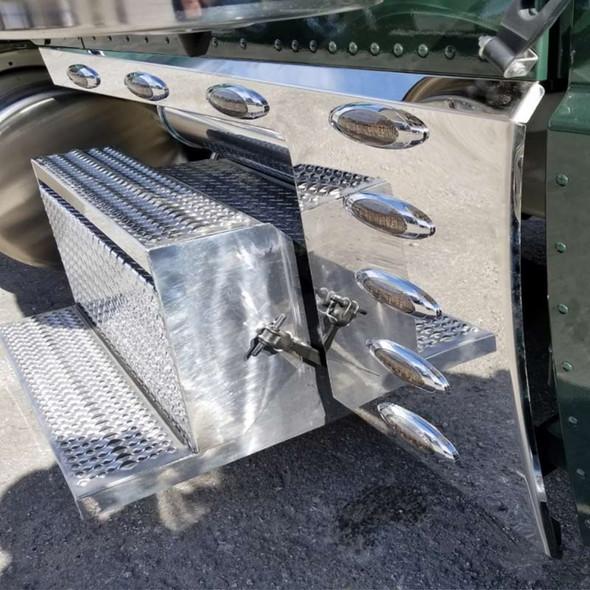 "Peterbilt 389 131"" Cab Cowl Panels - Smoke"