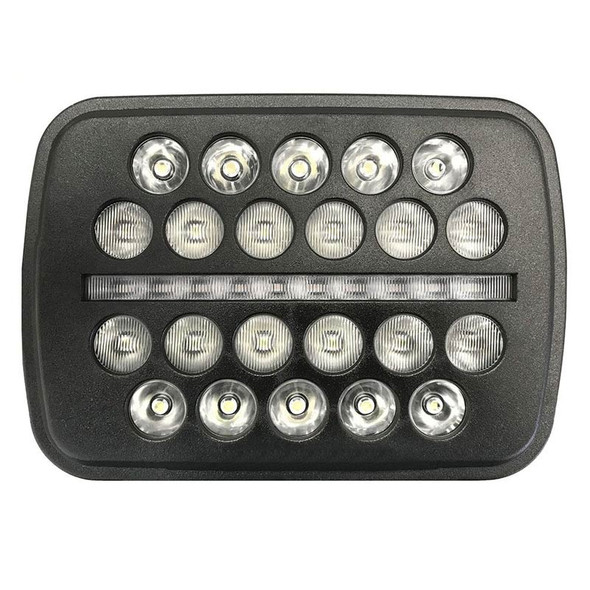 """5""""x7"""" Black Ops LED Headlight Front"""