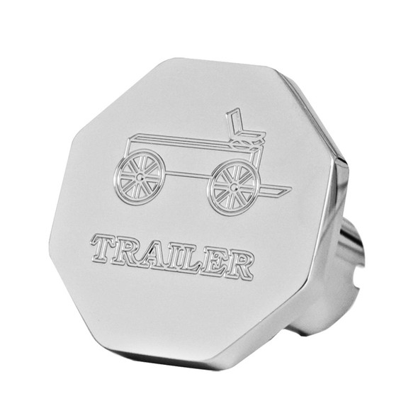 Engraved Wagon Logo Trailer Air Brake Knob