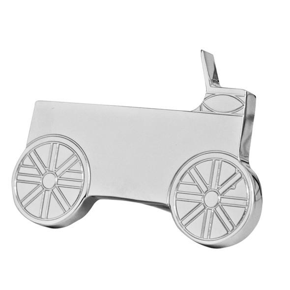 Engraved Wagon Shape Logo Tractor Trailer Air Brake Knob