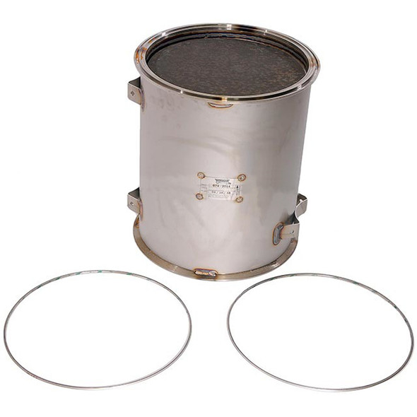Diesel Particulate Filter Front View