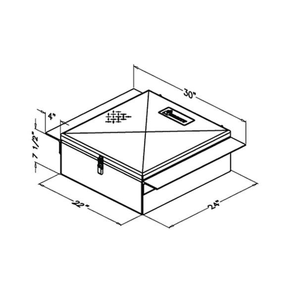 Aluminum Between The Frame Tool Box Measurements