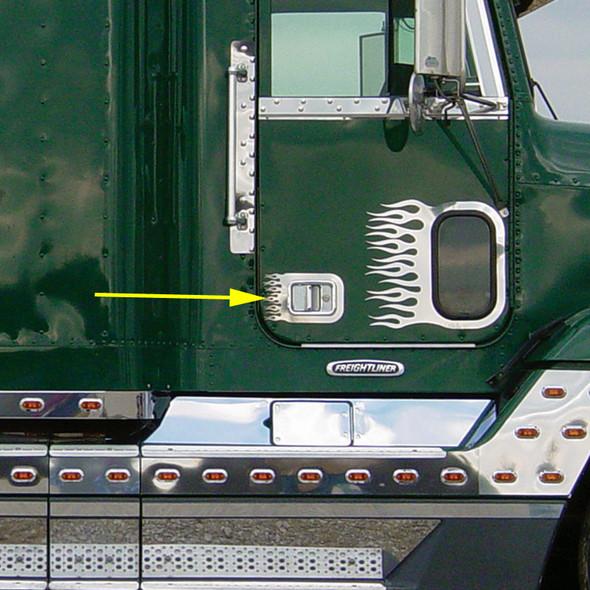 Freightliner Classic FLD Century Columbia Flame Door Handle Trim With Arrow