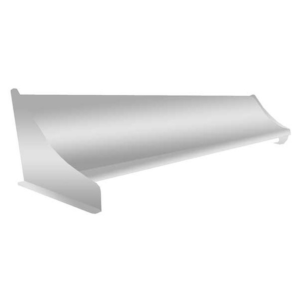 """Universal Whale Tail 70"""" X 19"""" For High Roof Curved Top"""